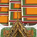 Architectural Detail Of Wat Pho Temple by Axiom Photographic