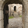 Archway - Entrance To Historic Town by Matthias Hauser