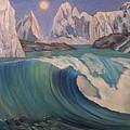 Arctic Ocean Glaciers by D Marie LaMar