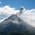 Arenal Eruption by Eric Tressler