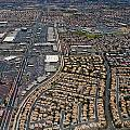 Arial View Of Las Vegas by Susan Stone