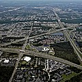 Ariel View Of Orlando Florida by Thomas Woolworth
