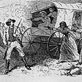 Armed Fugitive Slave Family Defending by Everett