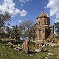 Armenian Church On Adkamar Island by Michele Burgess