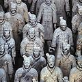 Army Of Terracotta Warriors In Xian by Axiom Photographic