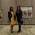 Art Exhibit Paintings by Min Wang