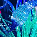 Art Glass In Turquoise by Peggy Zachariou