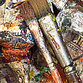 Art Is Messy 2 by Carol Leigh