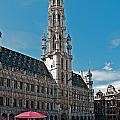 Art Reflecting Art In Brussels by Jim Chamberlain