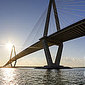 Arthur Ravenel Jr Bridge Charleston South Carolina by Dustin K Ryan