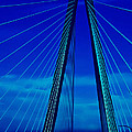 Arthur Ravenel Jr Bridge IIi by DigiArt Diaries by Vicky B Fuller