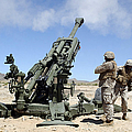 Artillerymen Fire-off A Round by Stocktrek Images