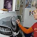 Artist In Action by Anna Ruzsan