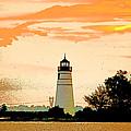 Artistic Madisonville Lighthouse by Luana K Perez