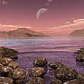Artists Concept Of Archean by Walter Myers