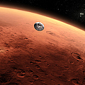 Artists Concept Of Nasas Mars Science by Stocktrek Images