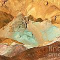 Artists Palette Death Valley by Anne Kitzman
