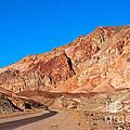 Artists Palette Death Valley California by Anne Kitzman