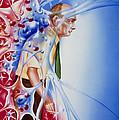 Artwork Depicting Parkinson's Disease by John Bavosi