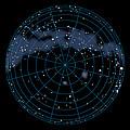 Artwork Of The Celestial Southern Hemisphere by Julian Baum