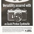 Asahi Pentax Spotmatic by Georgia Fowler