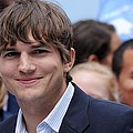 Ashton Kutcher At The Press Conference by Everett
