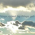 Ask Big Things by Michelle Welles