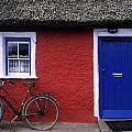 Askeaton, Co Limerick, Ireland, Bicycle by The Irish Image Collection