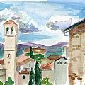 Assisi by Megan Little