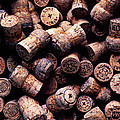 Assorted Champagne Corks by Garry Gay