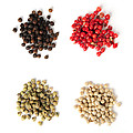 Assorted Peppercorns by Elena Elisseeva