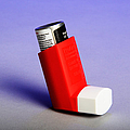 Asthma Inhaler by Photo Researchers, Inc.