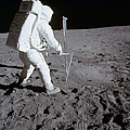 Astronaut During Apollo 11 by Stocktrek Images