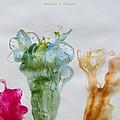 Asymetrical Flowers by Sonali Gangane