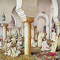 At Prayer In The Mosque by Filipo Bartolini or Frederico