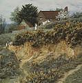 At Sandhills Witley by Helen Allingham