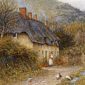 At Symondsbury Near Bridport Dorset by Helen Allingham