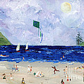 At The Beach by Sylvia Pimental