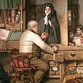 At The Pawnbroker by Thomas Reynolds Lamont
