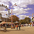 At The Prater - Vienna by Madeline Ellis
