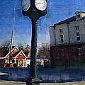 Athens Alabama City Clock by Kathy Clark