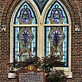 Athens Alabama First Presbyterian Church Stained Glass Window by Kathy Clark