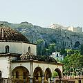 Athens View by Therese Alcorn