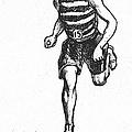 Athletics: Runner, C1900 by Granger