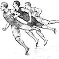 Athletics: Track, 1890 by Granger