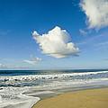 Atlantic Ocean Waves Break On The Beach by Skip Brown