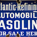 Atlantic Refining Co Sign by Bill Cannon