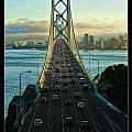 Atop Of San Francisco Bay Bridge by Blake Richards