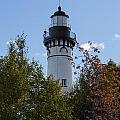 Au Sable Lighthouse 8 by John Brueske