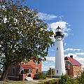 Au Sable Lighthouse 9 by John Brueske